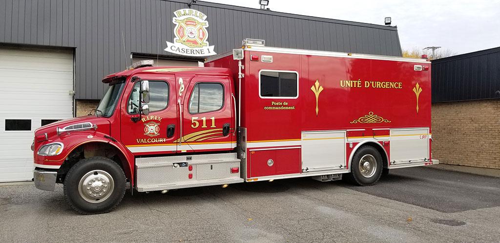 511 unité d'urgence