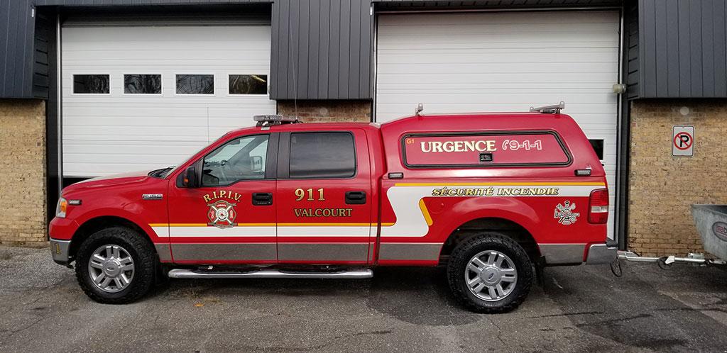 911 camion de service
